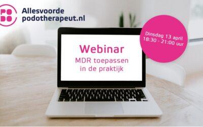 """Webinar """"MDR toepassen in de praktijk"""""""