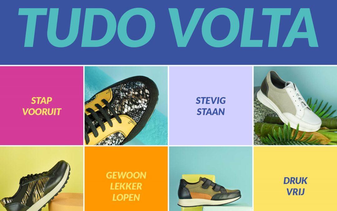 Coming Soon: schoencollectie Tudo Volta – speciaal voor mensen met diabetes of reuma